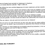 """SAVE"" Training Tagebuch"