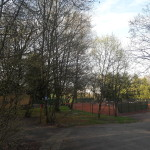 Wengenwald Tennisplatz
