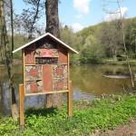 Bienenhotel am Weiher